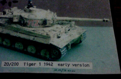 1:76 Tiger I 1942 Early Version Skytrex Metall-Bausatz  Extrem Selten