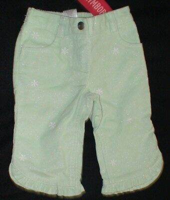Brand New Gymboree Winter Ballerina Green Pants Size 12-18 Month