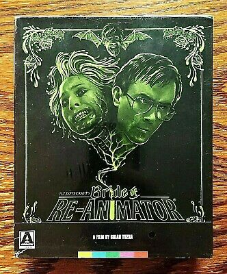 Bride of Re-Animator Blu-Ray DVD NEW Sealed Arrow 3 Disc US Limited Rare OOP