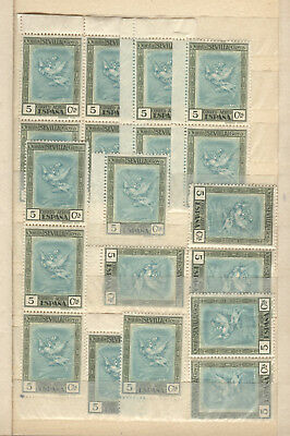 SPANIEN - SPAIN - ESPANE interesting old airmail MNH collection 2 stockbooks