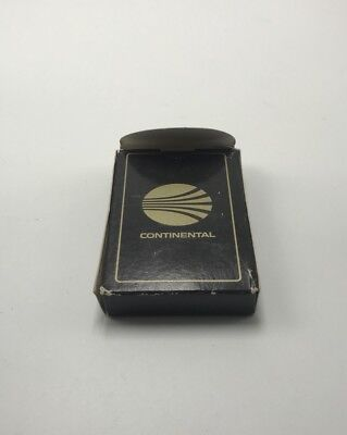 Continental Air Lines Sealed Playing Cards Open Tuck Box