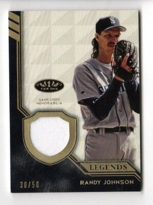 Randy Johnson Mlb 2018 Topps Tier One Legend Relic #/50 (Mariners,giants,yankees