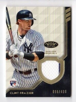 Clint Frazier Mlb 2018 Topps Tier One Legend Relics (New York Yankees) #/400