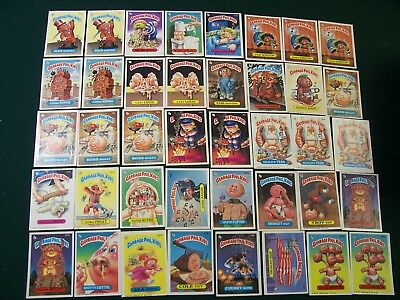 Garbage Pail Kids Cards Group (Numbers 167 And Up)