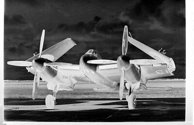 De Havilland Sea Hornet TT213 35mm copy photo negative