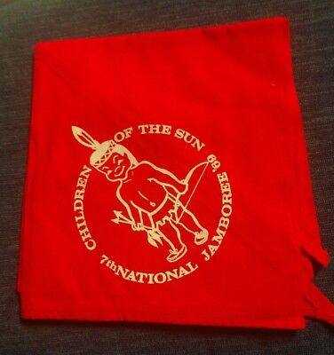 1969 Boy Scouts of America National Jamboree - Children of the Sun Neckerchief