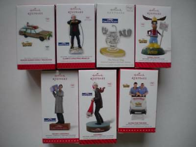 LOT OF 7 Hallmark Christmas Vacation Ornaments Clark's Miracle Meowy ...