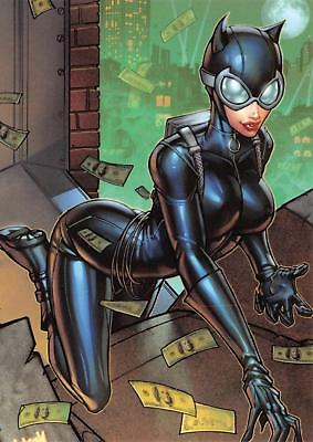 CATWOMAN / DC Comics The New 52 (Cryptozoic 2012) BASE Trading Card #13