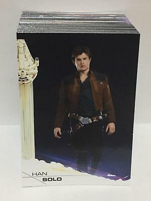 Solo: A Star Wars Story (2018) BASE Trading Card Set (100 Cards)