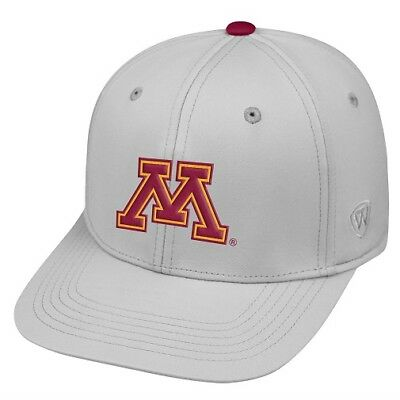 super popular a2cdb 5b84c Minnesota Gophers NCAA TOW Impact Gray Stretch Fitted Hat