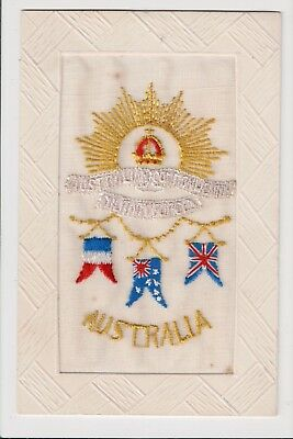 Silk - Australian Commonwealth, Military Forces.