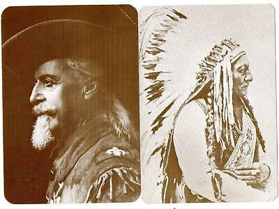 2 AKs U.S.A.: Buffalo Bill Cody and Sitting Bull, Old West Collectors Series,