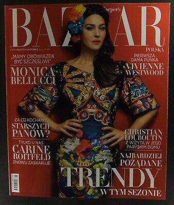 MONICA BELLUCCI  mag.FRONT cover Salvador Dali,Vivienne Westwood,Ch.Louboutin