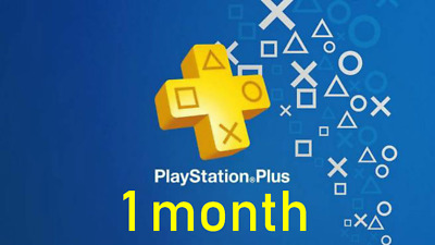 Playstation Plus One Month(No Code)