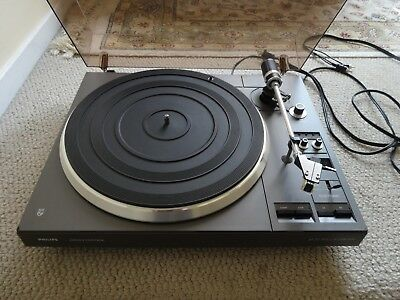 PHILIPS AF 777 Automatic Turntable/Audio Technica AT112SX Shibata Cartridge