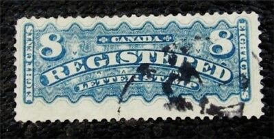 nystamps Canada Registration Stamp # F3 Used $350