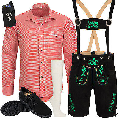 Traditional Costume Set Men's Trousers with Costume Carrier Shirt Bag
