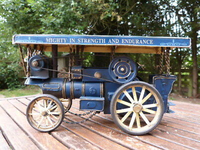 Lovely Vintage Metal Model Of Steam Tractor Engine