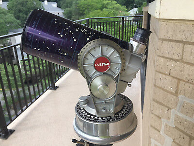 "QUESTAR 3.5"" Telescope with Synchronous Electric Drive and Heavy Duty Tripod"