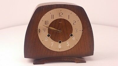 Vintage Smiths Westminster Chime Clock No Glass Bezel Spares/Repair FREE UK P&P