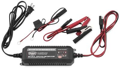 BikeMaster Intelligent Battery Charger/Maintainer 6-12 Volts 2-4 Amp TE4-0225