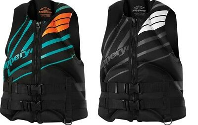 Slippery Adult PWC Surge Neo Life Vest Jacket All Colors XS-3XL