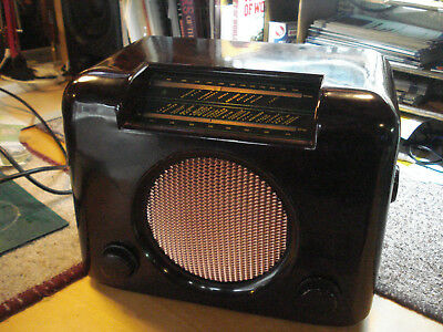Vintage 1940's Bush DAC90 Valve Radio Fully Restored with 12 months Guarantee