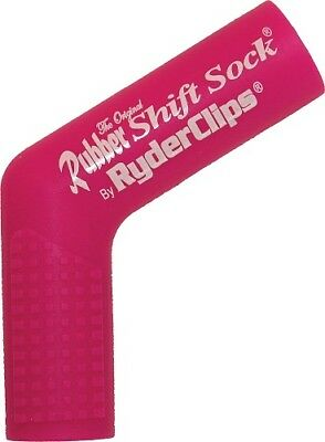 Ryder Clips Rubber Motorcycle Shift Sock Shifter Cover Pink