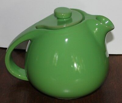Hall Emerald Green Sani grid or Pert Teapot  6 cup