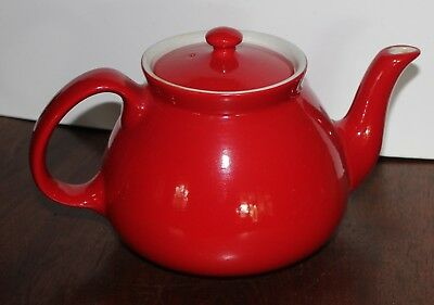 Hall Teapot 6 cup red New York teapot