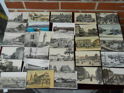Interesting Collection of 29 Vintage European Postcards