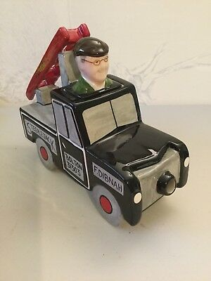 Lorna Bailey - Fred Dibnah MBE - Fred in his Landrover - Limited Edition 6 of 8