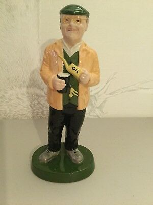 Lorna Bailey - Fred Dibnah MBE - Fred with yellow oil can - Colourway Prototype