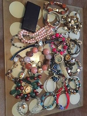 Large Job Lot Of Costume Jewellery watches Others