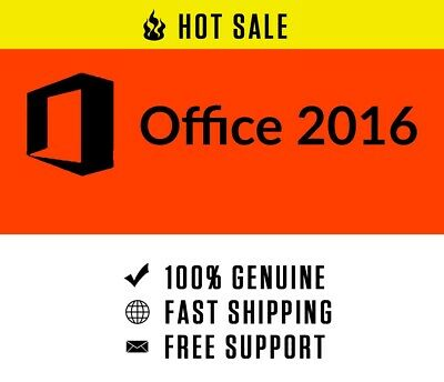 Microsoft Office 2016 Profesional Plus Key. Fast Shipping