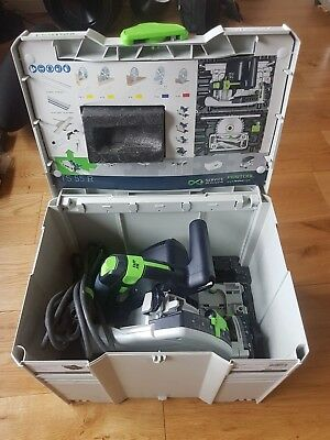 Festool  TS 55 REQ-Plus GB 110V Circular/Plunge Saw in Systainer 4 From 2016.
