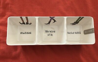 new rae dunn witches halloween serving tray
