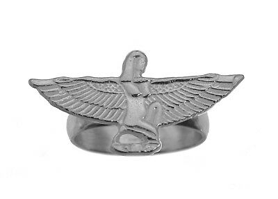 Sterling Silver Isis Ancient Egyptian Goddess Health Marriage Wisdom Egypt Ring