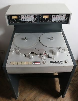 Studer A80 VU MKII Stereo Master Taperecorder with Butterfly Heads
