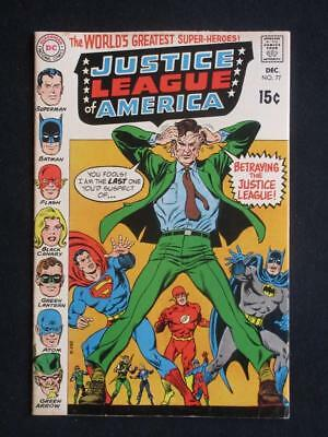 Justice League of America #77 DC 1969 - HIGH GRADE - Wonder Woman, Superman!!!