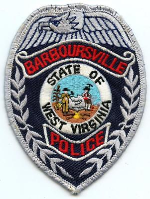 "Barboursville West Virginia Police Department 4.5"" Patch Law Enforcement Officer"