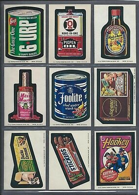 Wacky Packages Series 9 Complete Set 29/29 Nmmt