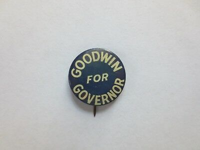 Celluloid Pinback for Charles A. Goodwin for Governor of Connecticut