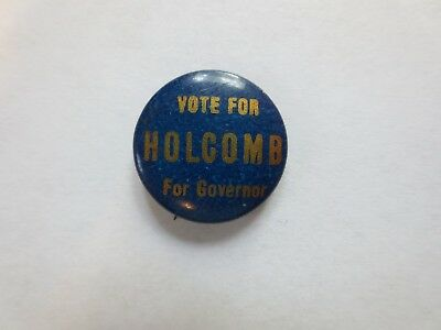 RARE Celluloid Pinback for Marcus H. Holcomb for Governor of Connecticut