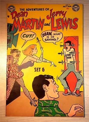 Adventures of Dean Martin & Jerry Lewis #7, July- August 1953