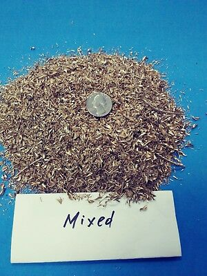 Brass Shavings, mixed sizes, 3lb bags @ $13/lb