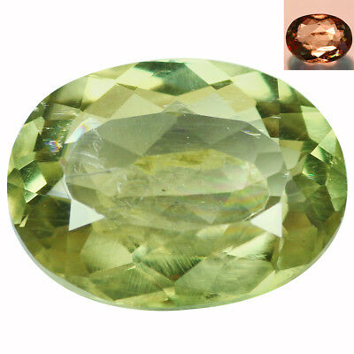 2.32Ct Grand look Oval Cut 10 x 7 mm AAA Color Change Turkish Diaspore