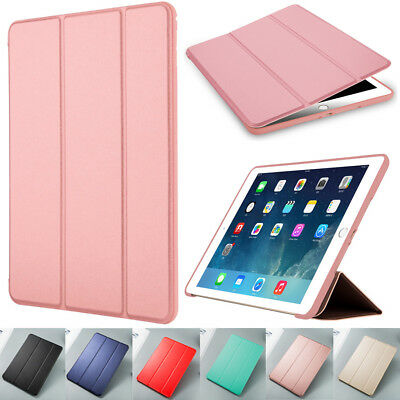 For Apple iPad 9.7 5/6th Gen 2017 2018 Smart Wake Leather Luxury Slim Case Cover