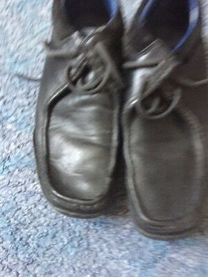 Retro Black Lace Up Ted Baker Shoes Size 42/8