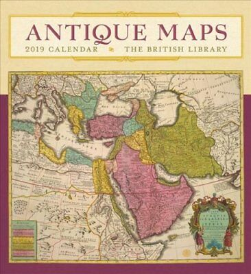 Antique Maps 2019 Wall Calendar 9780764980305 (Calendar, 2018)